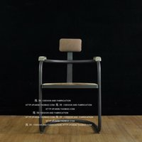 bar chair and table - American country wrought iron do old armchair Retro bar chair bar chair Coffee tables and chairs Recreational chair