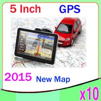 auto nav - 5 Inch Auto Car GPS Navigation Sat Nav GB New Map WinCE FM Mp3 Mp4 ZY DH