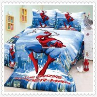 bedding sets stores - New Store Sale OFF Amazing Spiderman Bedding Pieces Twin Single Duvet Quilt Cover Sheet Set for Boys Bedding