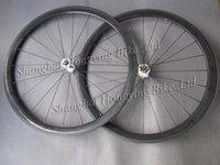 Wholesale carbon mm clincher wheel carbon fiber bike wheelset k gloss