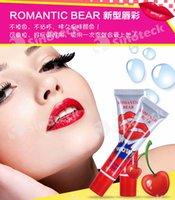 orange peel - Lip Gloss Peel off Lasts For h No Stain Marine Collagen Lipstick Balm Plant Romantic Bear Makeup Moisturizing Free DHL Factory