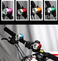 Wholesale Led Bike lamp Light weight Lumen CREE XML T6 LED USB or DC Connector Bike Light Front Bicycle Lamp LED Headlight Headlamp Modes