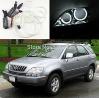 Wholesale For Lexus RX300 Excellent Quality CCFL Angel Eyes kit Ultrabright headlight illumination angel eyes kit Halo Ring