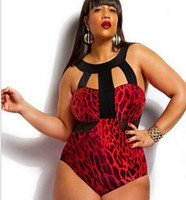 Wholesale Plus size Lady Swimwear Stretch Bodysuit Party Leotard sexy Bikini One pieces Swimsuit new style Drop shipping