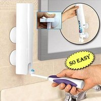 bathroom accessories - Automatic Toothpaste Dispenser Touch N Brush Toothpaste Squeezer Bathroom Set Accessories