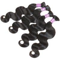 peruvian human hair bulk for braiding - 7A Unprocessed Peruvian Remy Virgin Bulk Hair For Braiding Body Wave Peruvian Human Hair For Braiding Bulk No Attachment