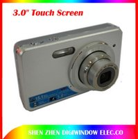Wholesale New inch Touch Screen Gift digital Camera Mega Pixels DC Cameras