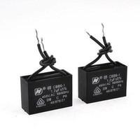 ac pc fan - uf MFD V AC Hz Black Wire Electric Fan Capacitor CBB61