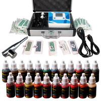Wholesale Solong Tattoo Makeup Kit Permanent Eyebrow Gun LCD Power Supply Ink Needle Tip EK110