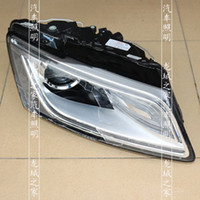 audi headlight assembly - Audi Q5 original scrap lens headlight assembly HID xenon lamp car modification q5 European standard bifocal lens
