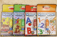 album machine - Water Water W amazing graffiti children s sketchpad album baby toys car Animals Alphabet and Numbers for baby toddle kids