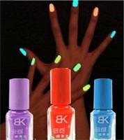 glow in the dark nail polish - Colors Fluorescent Luminous Neon Glow In the Dark Varnish Paint Nail Art Polish ml