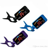 Wholesale LED Chromatic ukulele guitar bass Digital tuner afinador parts accessory AT DHL Free airmen