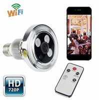 Wholesale P2P in1 LED Wireless CCTV WIFI Camera Webcam Micro HD P2P IP H Camcorder DVR Cam Recorder Video Camera Night Vision