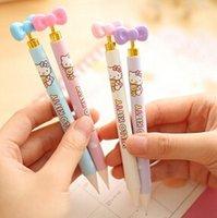 Wholesale 0 supplies kawaii KT cartoon mechanical pencil for school students writing prize mm set Oulm