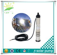 Wholesale 30M head dc mini solar pump solar submersible pump solar irrigation water pump without solar panel