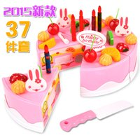 Wholesale The latest pretend to play with toys and toys for children s toys birthday cake standard to look at the assembly