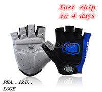 Wholesale 2015 New GEL Bike Bicycle Gloves outdoor racing riding Cycling Sports Half Finger Short gloves