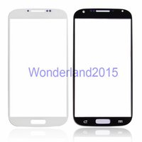 Wholesale 100 front outer screen glass for SAMSUNG Galaxy S4 i9500 S3 i9300 S3 mini i8190 S4 mini i9190 glass to repair LCD