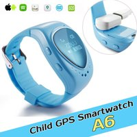 apps for kids - GPS tracking tracker smart watch phone A6 for kids child children gps bracelet google map sos button free apps gsm gps locator