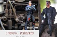 arnold schwarzenegger - Anime The Terminator T Arnold Schwarzenegger PVC Action Figure Collectible Model Toy quot cm in opp bag