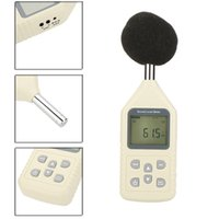 Wholesale High Accuracy GM1358 Portable LCD Display Digital Sound Level Meter Noise Meter dB Decibel Meter Measuring Range dB E0297