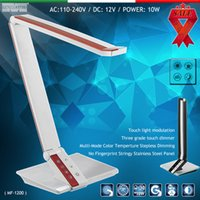 art deco japan - New desk Lamps LED Table lamp Reading lamp LED study lamp W Smouch swich color temperature adjustment and dimmer designart hot led