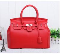 Wholesale cici528 Hot Elegant Vintage Women Lady Celebrity PU Leather Tote Handbag Shoulder Hand Bag with Lock colors