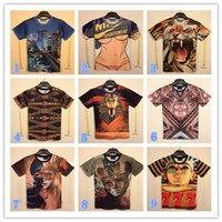 fashion clothes for men - 2015 New Fashion Men s D t shirts Print Cartoon Anime Men s Clothing shirts For men boys Summer High Quality Pharaoh nude beautiful woman