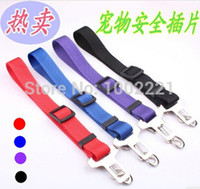 adjustable dog feeders - Adjustable Car Vehicle Seat Seatbelt Pet Dog Safety Belt Harness Lead Clip