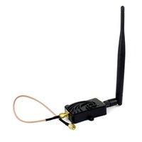 Indoor wifi antenna booster - 5W GHz a n WiFi Wireless LAN Broadband Router Signal Booster Amplifier With dBi External Antenna D5519A