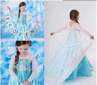 Cheap TuTu Frozen Princess Dresses Best Summer A-Line frozen Elsa dresses