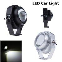 Wholesale Super Bright Led Car Fog Lamp Waterproof LM W CREE DRL Eagle Eye Light Daytime Running Reverse Backup Parking ZM00035