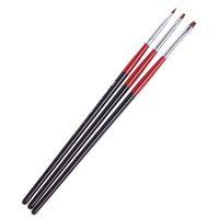 Wholesale 3Pcs Nail Art Brush Design Pen Painting Dotting Tool Nail Art Set DIY Professional Nail Tools