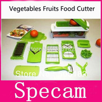 Wholesale 2015 Dicer Plus Vegetables Fruits Food Slicer Cutter Containers Chopper Peelers chopping shredder device kitchen tools