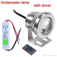 Wholesale 2015 Promotion Sale w v Colors Rgb Led Underwater Light lm Waterproof Ip68 Fountain Pool Lamp Lighting with Driver A5