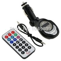 Wholesale GTMax in SD MMC USB MP3 Wireless In Car FM Transmitter with Remote for MP3 Plaryer Cellphone iPhone iPod Touch Nano
