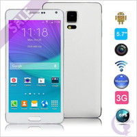 Wholesale 5 inch NOTE Android KitKat Dual Core MTK6572 GHz MB GB WiFi G WCDMA Micro Sim Card MP Camera Smart Phone
