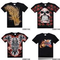 summer clothes for men - Fashion T Shirt Skull Print D Men T Shirt Plus Size Dresses for Men Summer Men s Clothing Creative D T Shirt Hundreds Style