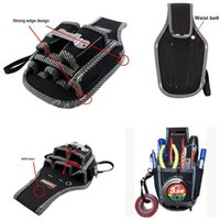 Wholesale 2015 New Design in1 Electricians Waist Pocket Tool Belt Pouch Bag Screwdriver Carry Case Holder Outdoor Working