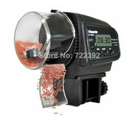 Wholesale fast ship Via HK Drop shipping New AF D Digital LCD Automatic Aquarium Tank Fish Food Feeder Timer