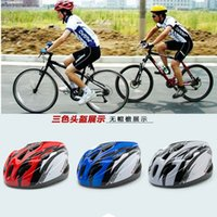 Wholesale High Quality Unicase Bicycle Helmet Safety Cycling Helmet Bike Head Protect custom bicycle helmets Sports Outdoor Cycling Protective Gear