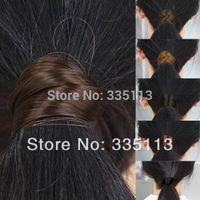 Wholesale 2pcs New Women Girls Straight Wig Elastic Hair Band Rope Scrunchie Ponytail Holder Synthetic Hair Headband