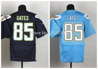 authentic gates jersey - Factory Outlet Antonio Gates Jersey Men s Elite Football Jersey Best Quality Authentic Jersey Embroidery Logo Size M XL Can Mix Order