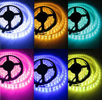 Wholesale RGB IP65 waterproof and non waterproof IP20 LED lights SMD5050 P V Meter LED light strip LED lights