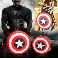 Wholesale Mother s Day Popular Avengers Captain America Shield Student Backpack Book School Bag Gift Small Big Bag