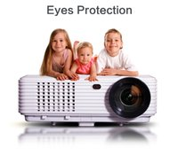 portable digital tv - Full HD LED Lumen D Proyector Native1280 Video game home theatre Portable Digital TV Projectors