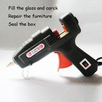 Wholesale 80 W Constant Temperature Air Craft Repair Electric Hot Melt Heating Glue Gun Stick Trigger w Switch