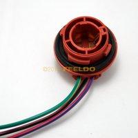 Wholesale High quality Car BAY15D LED Bulbs Brake Signal Lights Socket Harness Plugs long life time