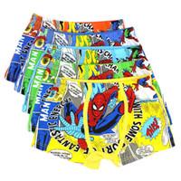 children underwear - Spiderman Cotton Boxers Kid Boy Boxer Briefs Children Clothes Kids Clothing Underwear Underpants Childrens Briefs Boys Underwear C3784